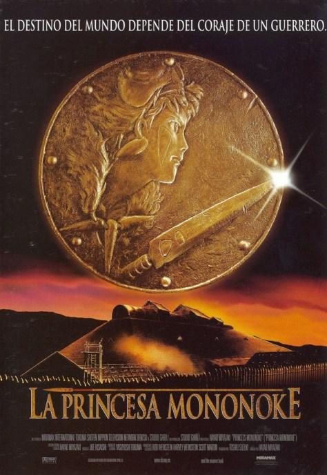 La princesa Mononoke - poster