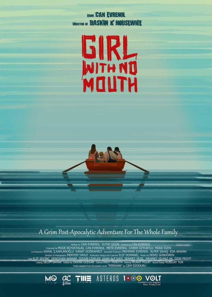 Cartel para la película Girl with no mouth