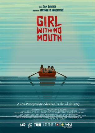 Cartel para la película Girl with no mouth