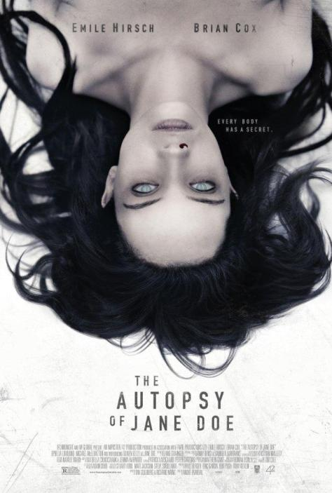 Póster de la película La autopsia de Jane Doe
