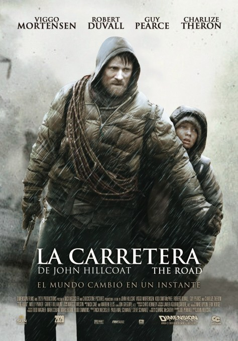 Cartel de la película La carretera, de 2009