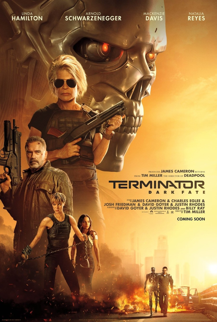 Cartel de la película Terminator: Destino Oscuro