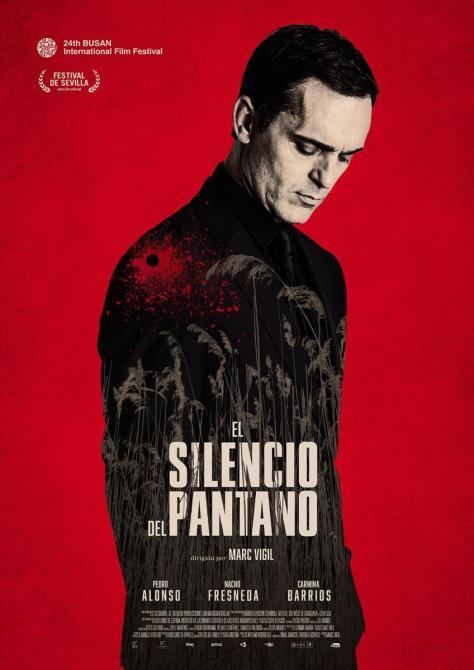 Cartel de la película El silencio del pantano, de 2019