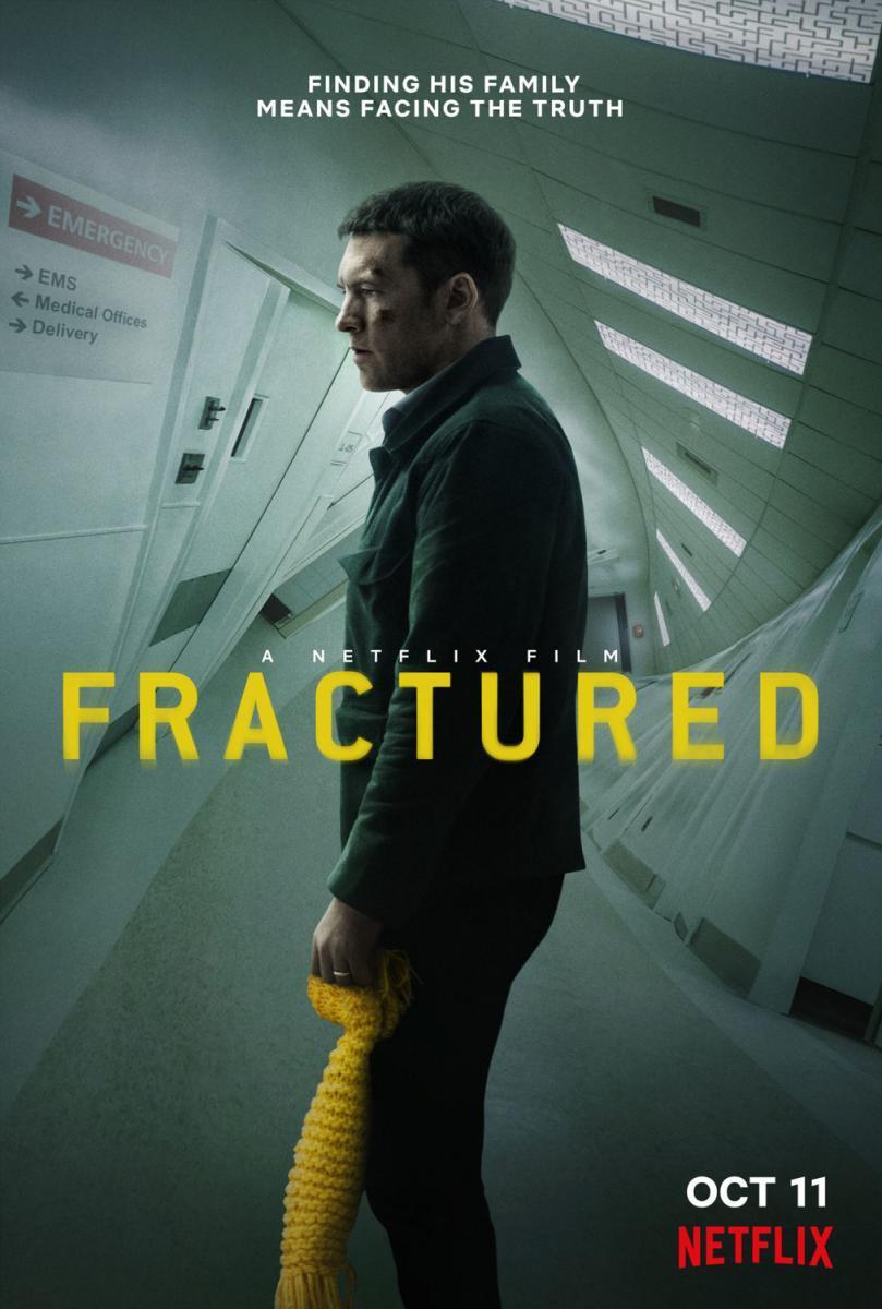 Cartel de la película Fractured, de 2019