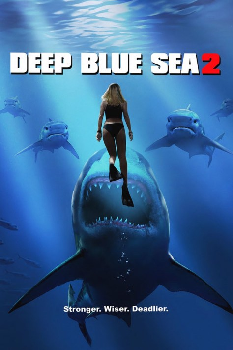 Deep Blue Sea 2 - poster