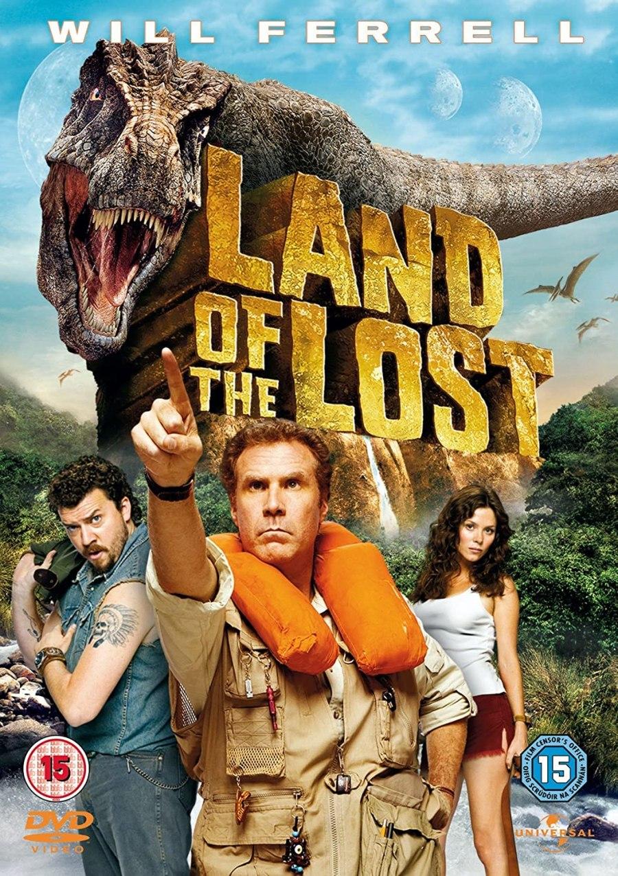 Cartel de la película Land of the lost