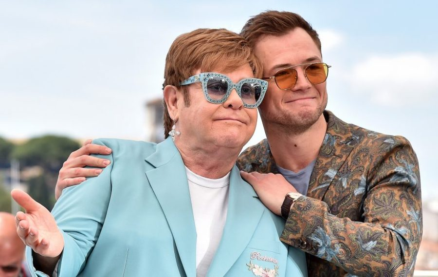 Imagen de Elton John y Taron Egerton