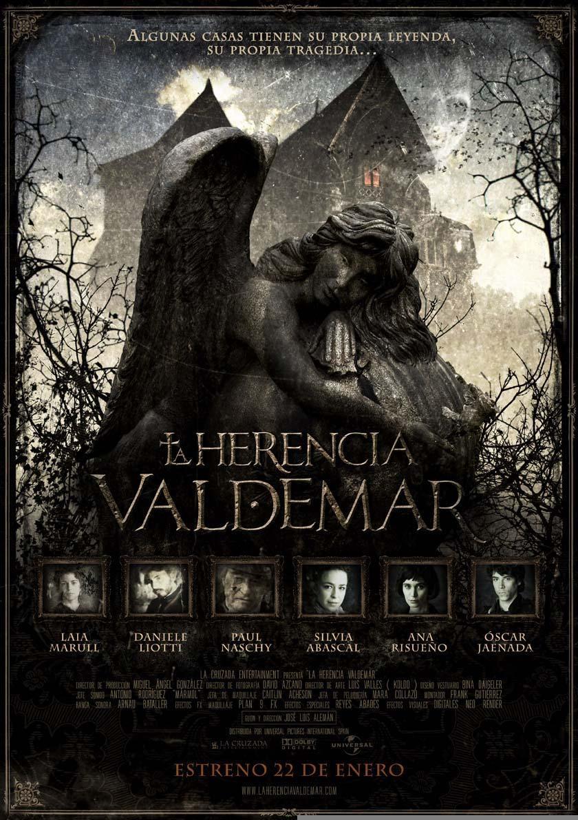 Cartel de la película La herencia Valdemar