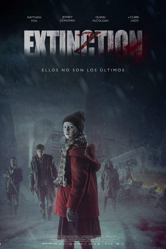 Extinction - poster