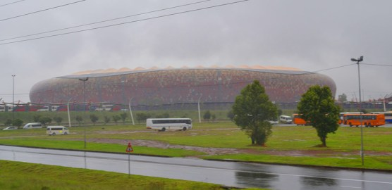 Soccer City which played host to Nelson Mandela's memorial service. Photo: Nokuthula Manyathi