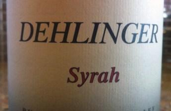 2002 Dehlinger Estate Syrah