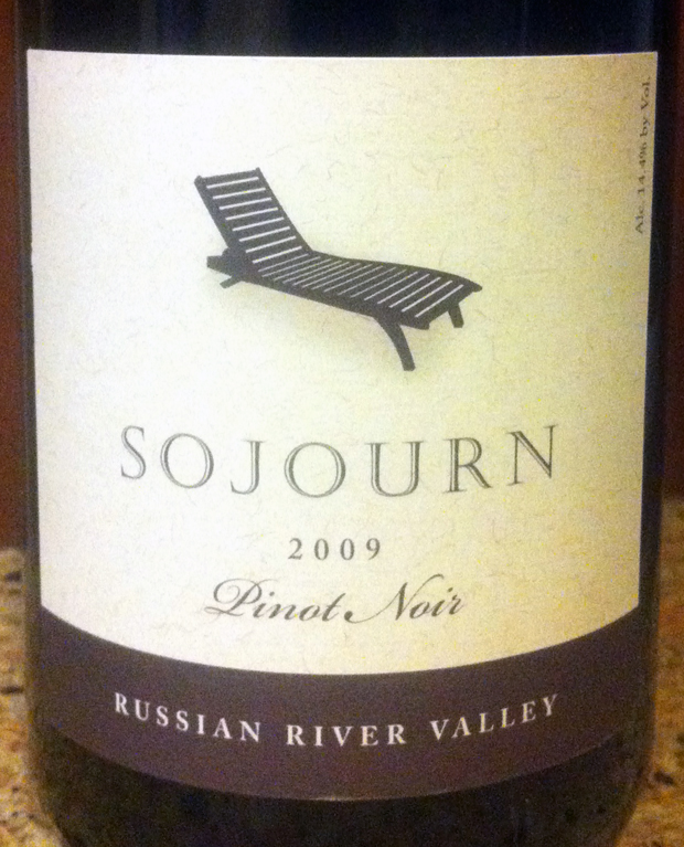 2009 Sojourn Russian River Valley Pinot Noir