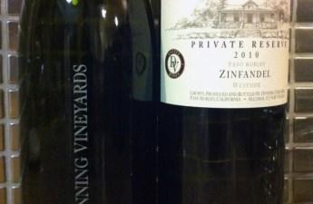 Dunning Vineyards 2010 Zinfandel & Petite Sirah