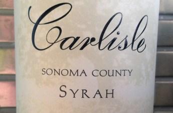 2009 Carlisle Sonoma County Syrah