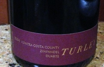 2004 Turley Duarte Vineyard