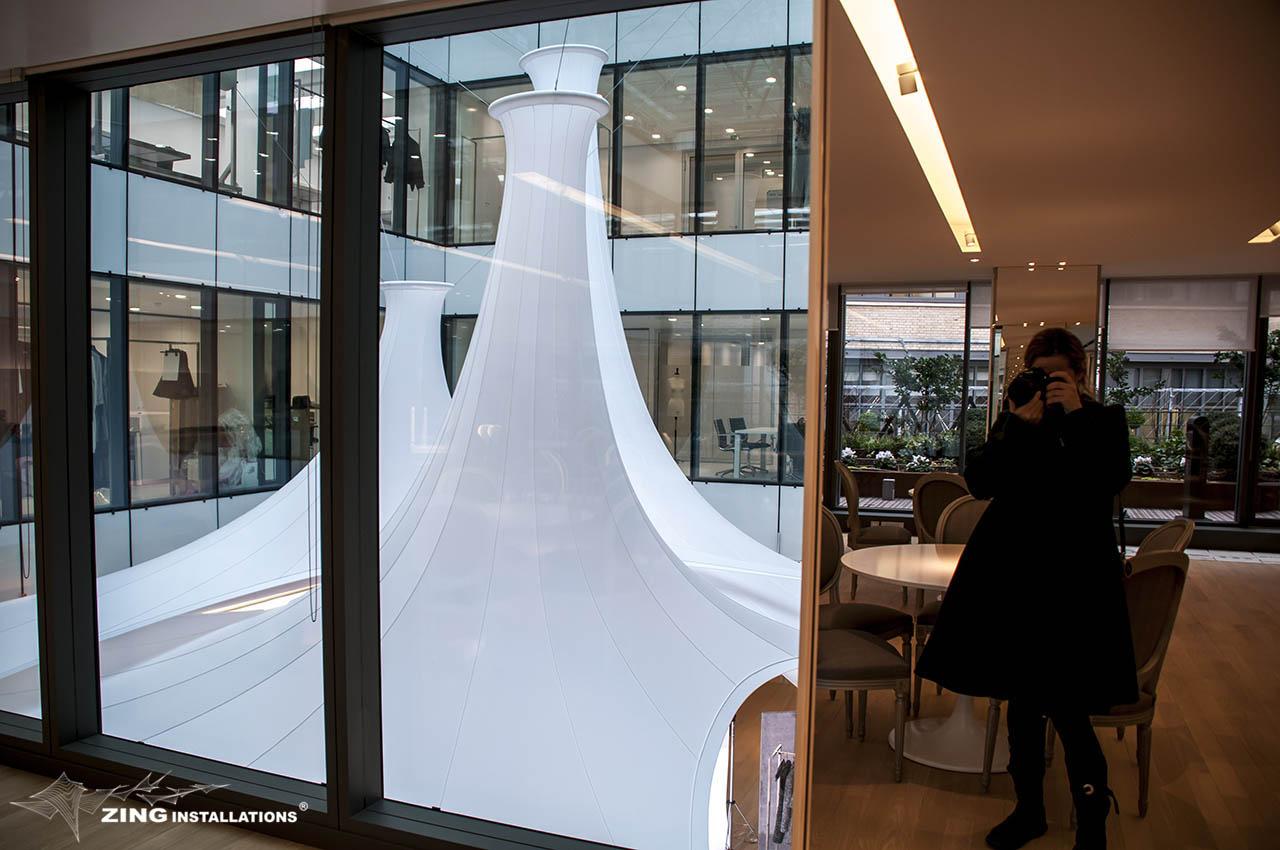 Sige de la Maison Dior  Paris  zingfr