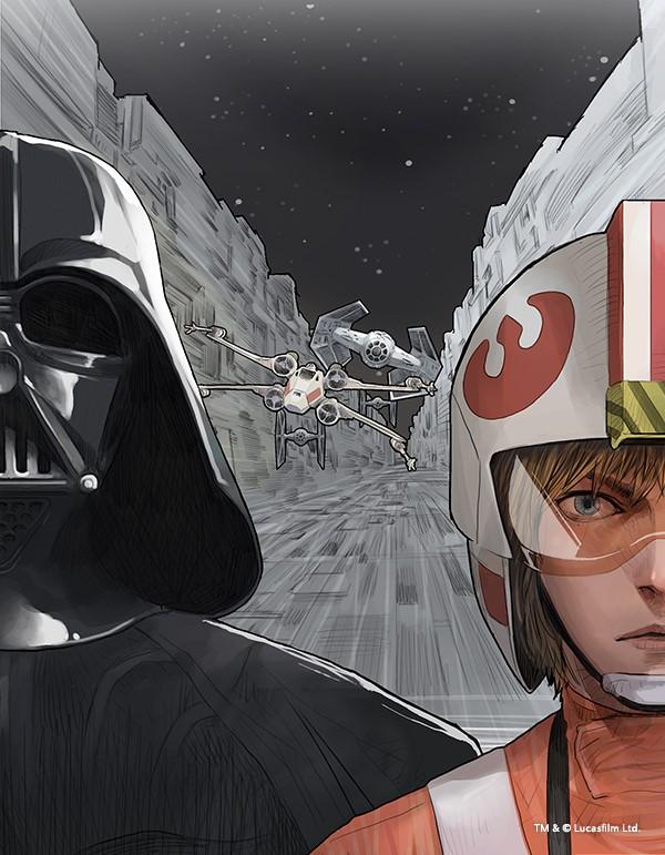 LINE Webtoon Presents Debut of Star Wars Digital Comic Series_2
