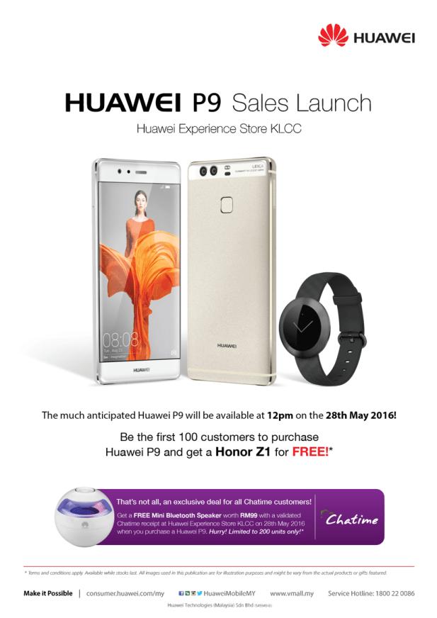 Huawei P9 Sales Launch - KLCC (1)