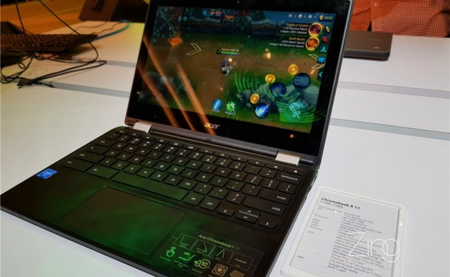 Acer Launches 3 New Military Grade Chromebook With Water