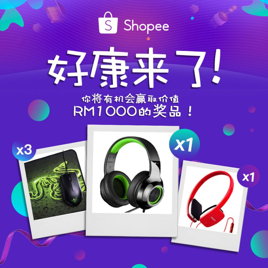 ZING SHOPEE Contest Visual