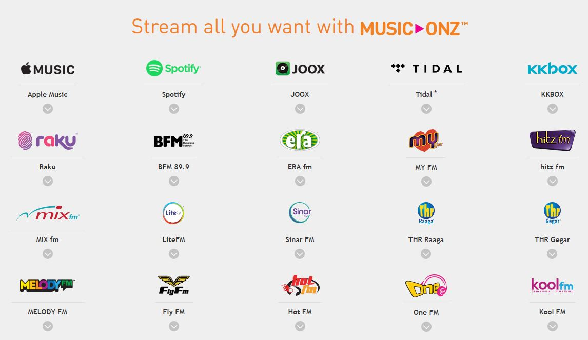 music onz