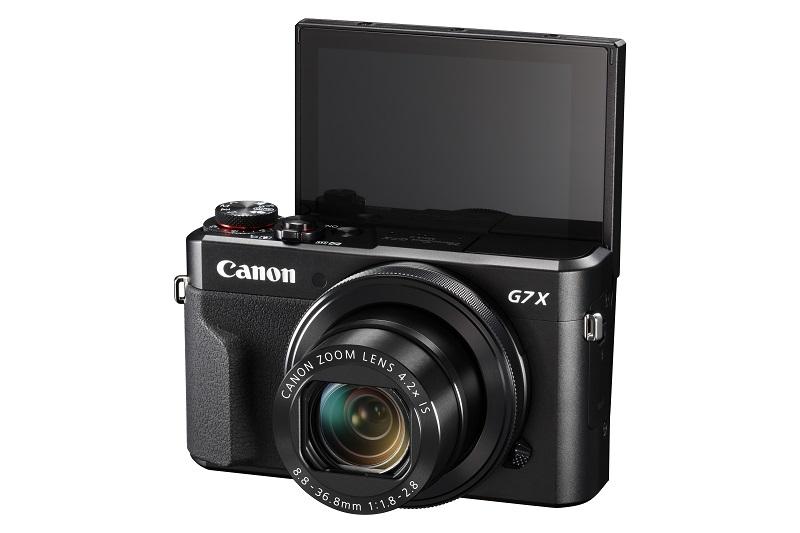 7.Canon PowerShot G7X Mark II