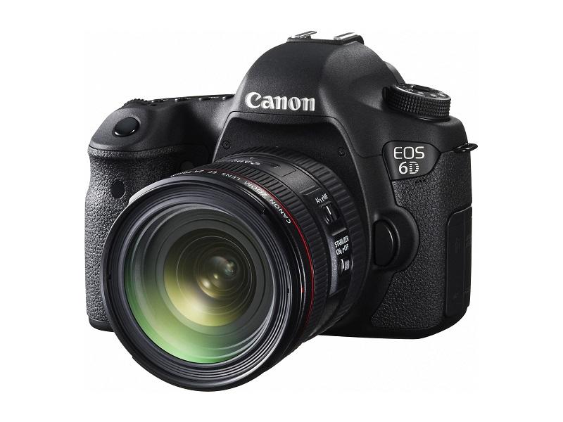 9.Canon EOS 6D Mark II