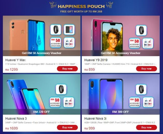 Get Huawei selected bundles for free gifts worth RM999! - Zing Gadget
