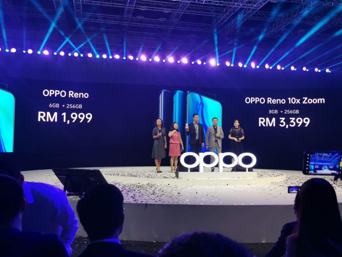 OPPO Reno 10x zoom to receive IWS international warranty