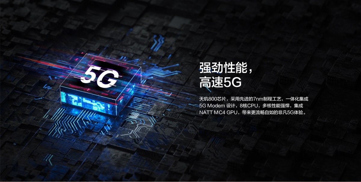 HUAWEI畅享Z中国发布:天玑800 双模5G 90Hz屏 22.5W快充 4000mAh,售约RM1038起! 802FAC6EA618A576B4CA