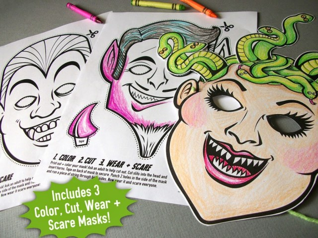 cryptozoology monster coloring book pages