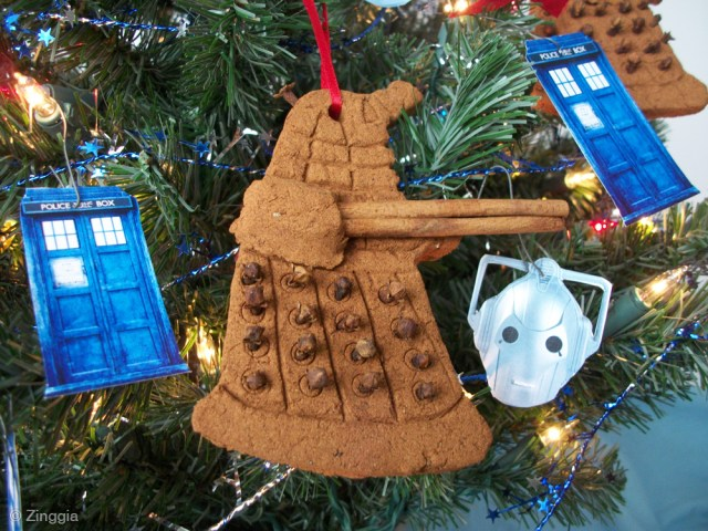 Dalek Christmas Ornaments