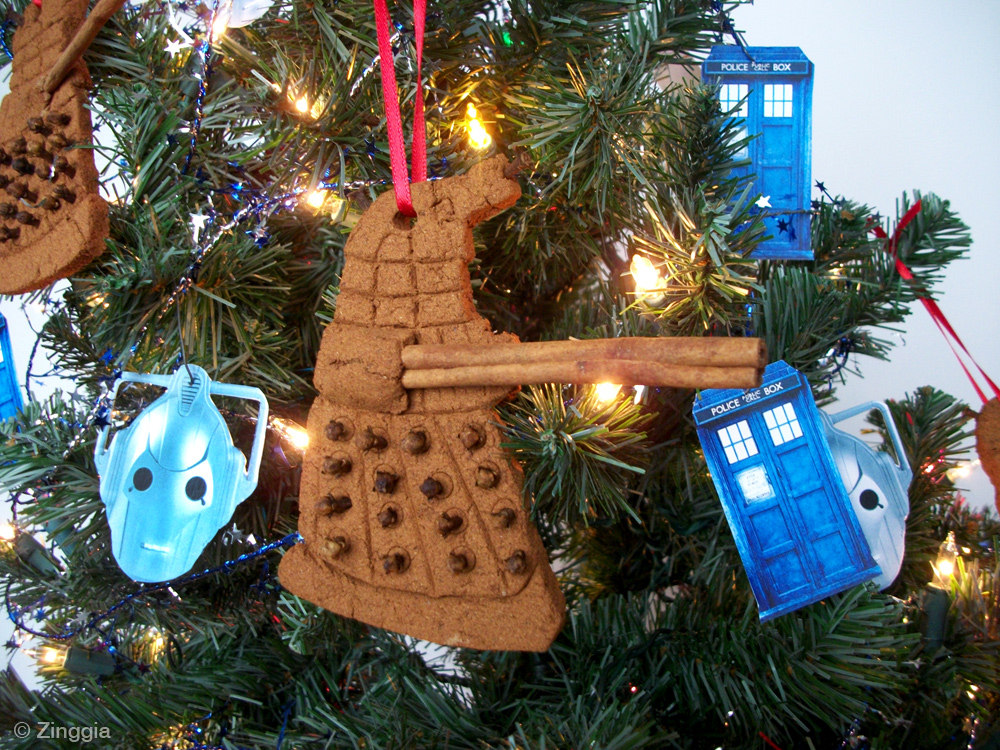 Zinggia! Scented Doctor Who Christmas Ornaments - Zinggia!