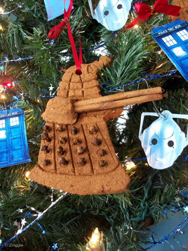 Doctor Who Christmas Ornaments