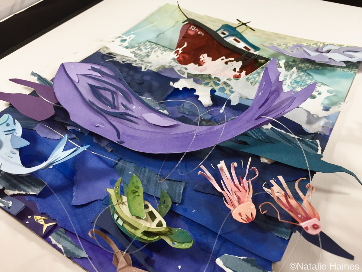 Natalie Haines 2018 zinggia art scholarship winner