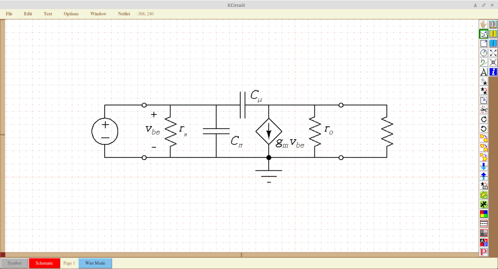 medium resolution of drawing circuit diagrams in xcircuit