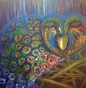 The Owl - Painting