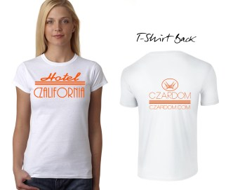 One Color, Two Sided Fashion T-Shirt Design