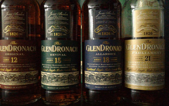 Glendronach core range