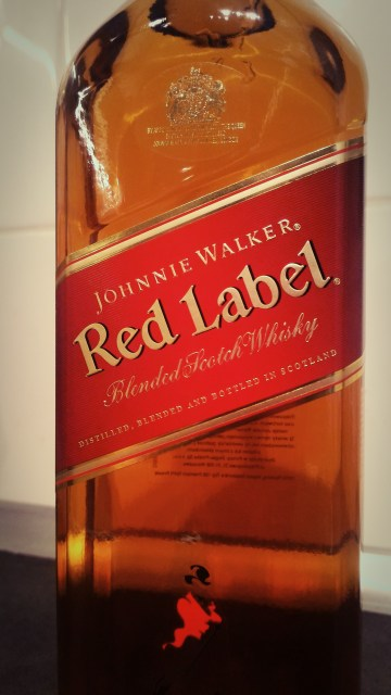 Wielki test blended whisky - cz. 1 - Johnnie Walker Red Label