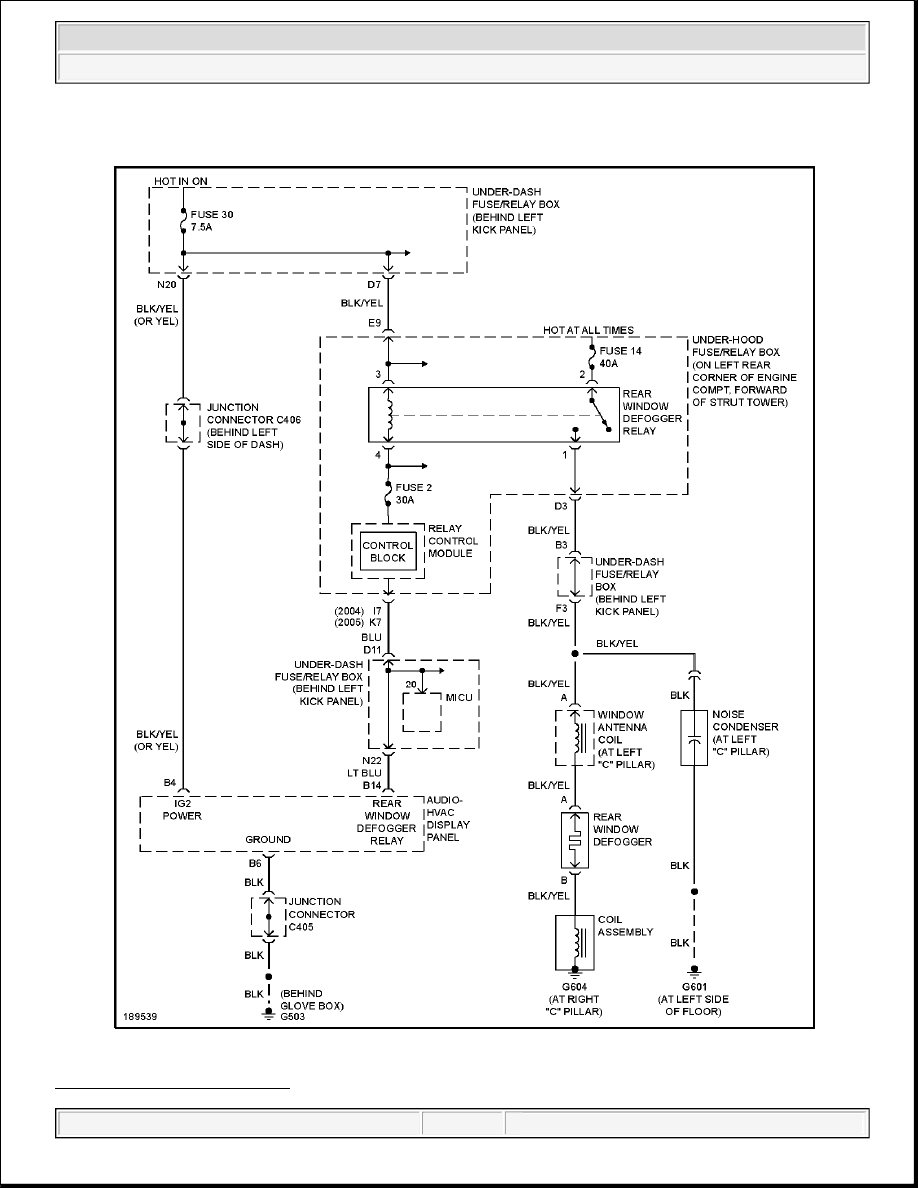 hight resolution of 2004 system wiring diagrams acura tsx fig 15 rear defogger circuit