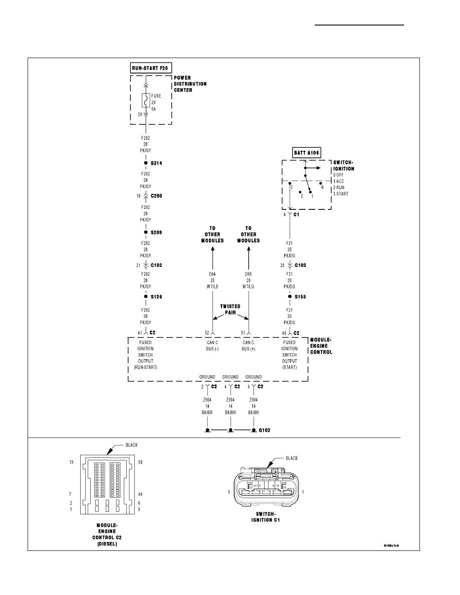medium resolution of chrysler engine control module wiring diagram