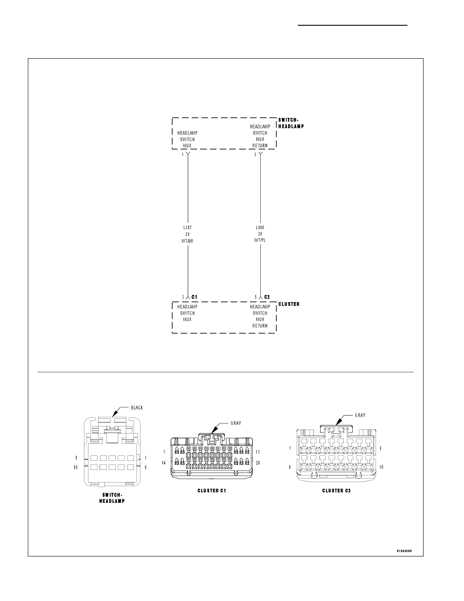 hight resolution of chrysler 300 300 touring 300c dodge magnum manual part 508chrysler 300 headlight switch wiring diagram