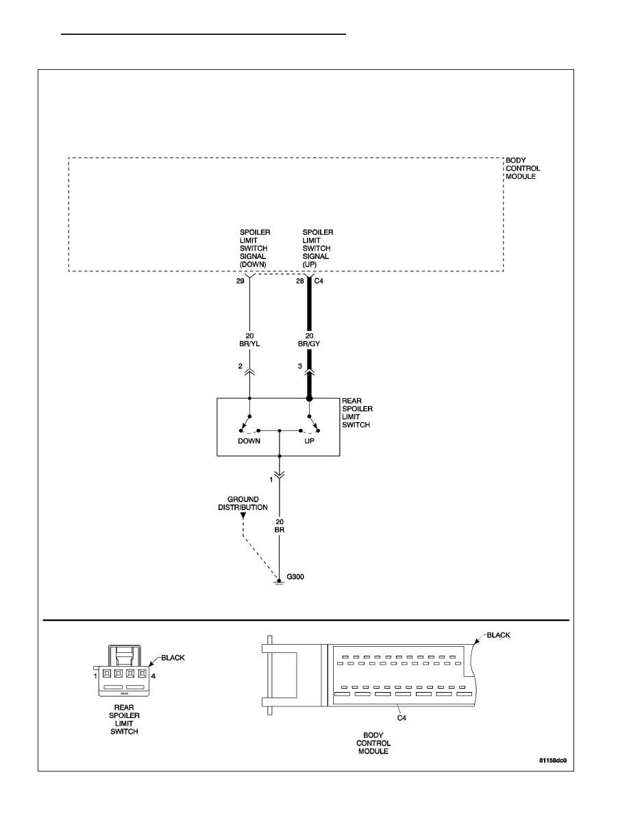 hight resolution of wiring diagram chrysler crossfire spoiler