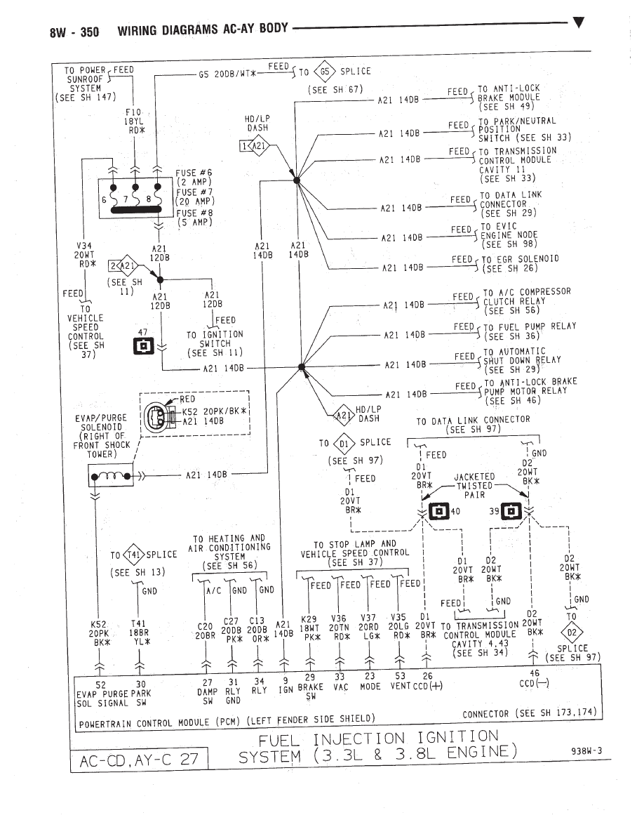 hight resolution of dodge dynasty fuse diagram wiring diagram expert 1993 dodge dynasty fuse box