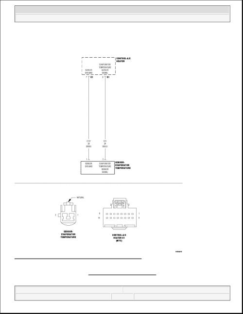 small resolution of 3 evaporator fin temperature sensor circuit schematic courtesy of chrysler llc