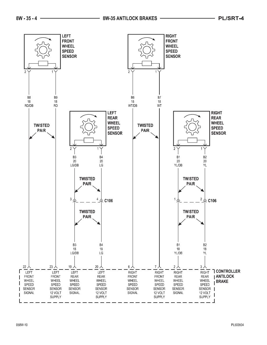 hight resolution of dodge neon neon srt 4 manual part 155 12v solenoid wiring diagram srt4 solenoid diagram