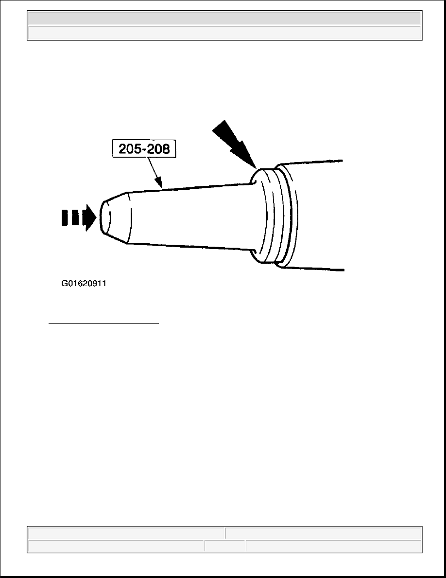 hight resolution of 67 installing pinion seal courtesy of ford motor co