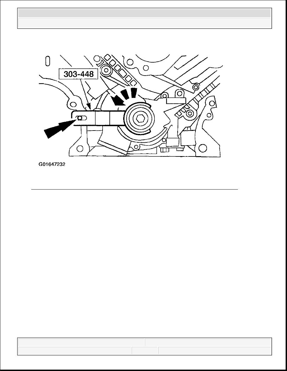 medium resolution of 335 positioning crankshaft number one cylinder at tdc 4 6l courtesy of ford motor co