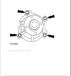 ford f150 water pump diagram [ 918 x 1188 Pixel ]